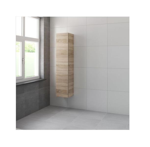 Bruynzeel Roma hoge kast 165x35x35 cm rechtsdraaiend, bardolino
