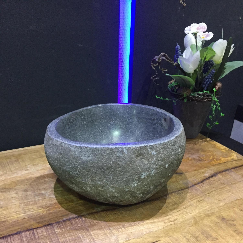 Fonteinkom BWS Natuursteen Lombok Riviersteen 25 cm BWS