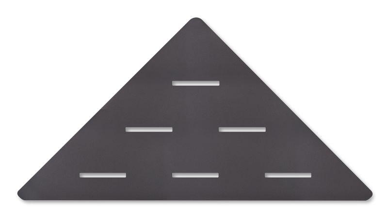 LoooX Corner Shelf hoekplanchet 30x22 cm, antraciet