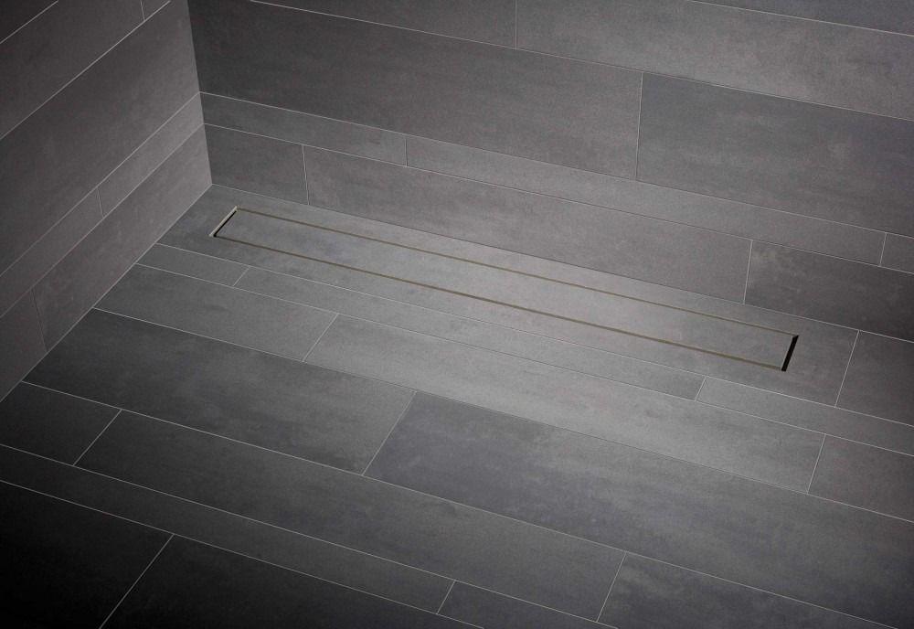 Mueller Tiles tegel douchegoot met flens 110x7cm