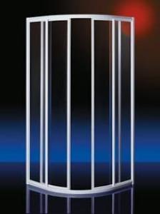 Plieger Class douchecabine kwartrond 3 mm glas 88/92x185 cm aluminium