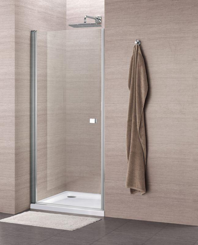 Sub 059 draaideur 80x195 cm, chroom-helder clean