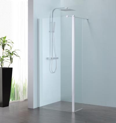 Sub 066 draaideel voor walk-in 35x200 cm, zilver-helder clean