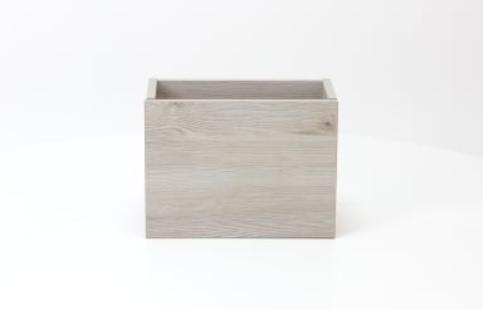 Sub 066 fonteinonderkast 36x18 cm deur universeel, essen grijs