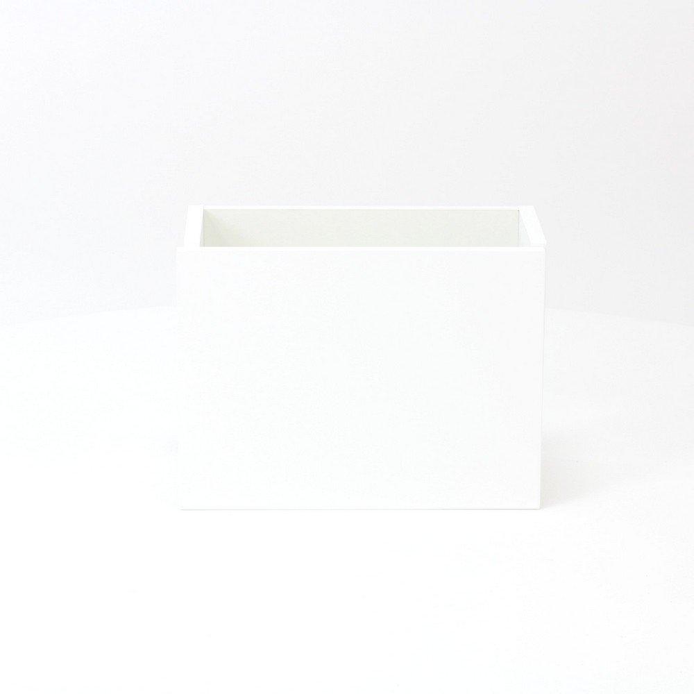 Sub 066 fonteinonderkast 36x18 cm deur universeel, hoogglans wit