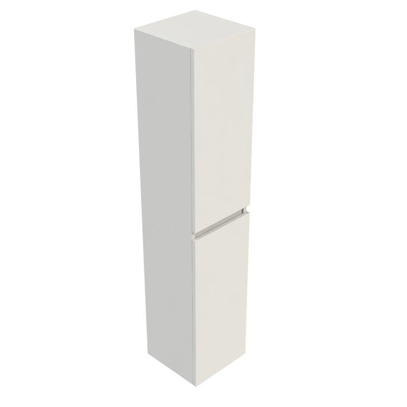 Sub 120 kast hoog 35x35x170 cm met 2 deuren links of rechts, wit gelakt