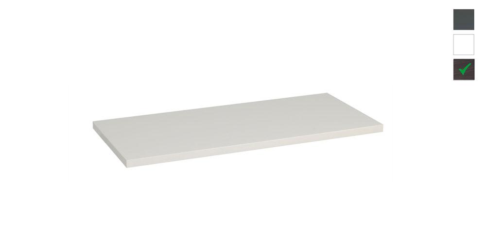 Sub topblad 81x47,5x2,5 cm, houtnerf grijs