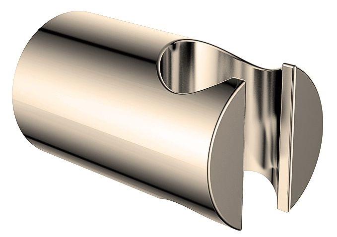 Wiesbaden Luxe vaste handdouche houder, geborsteld staal