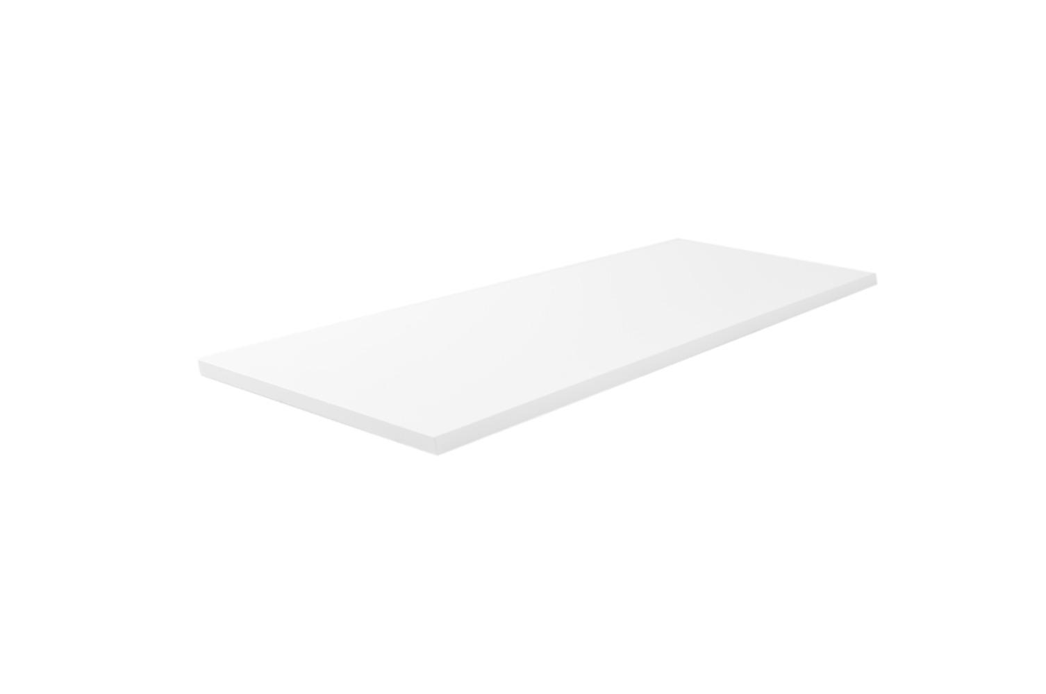 Wiesbaden Vision topblad 101x47,5x2,5 cm, wit