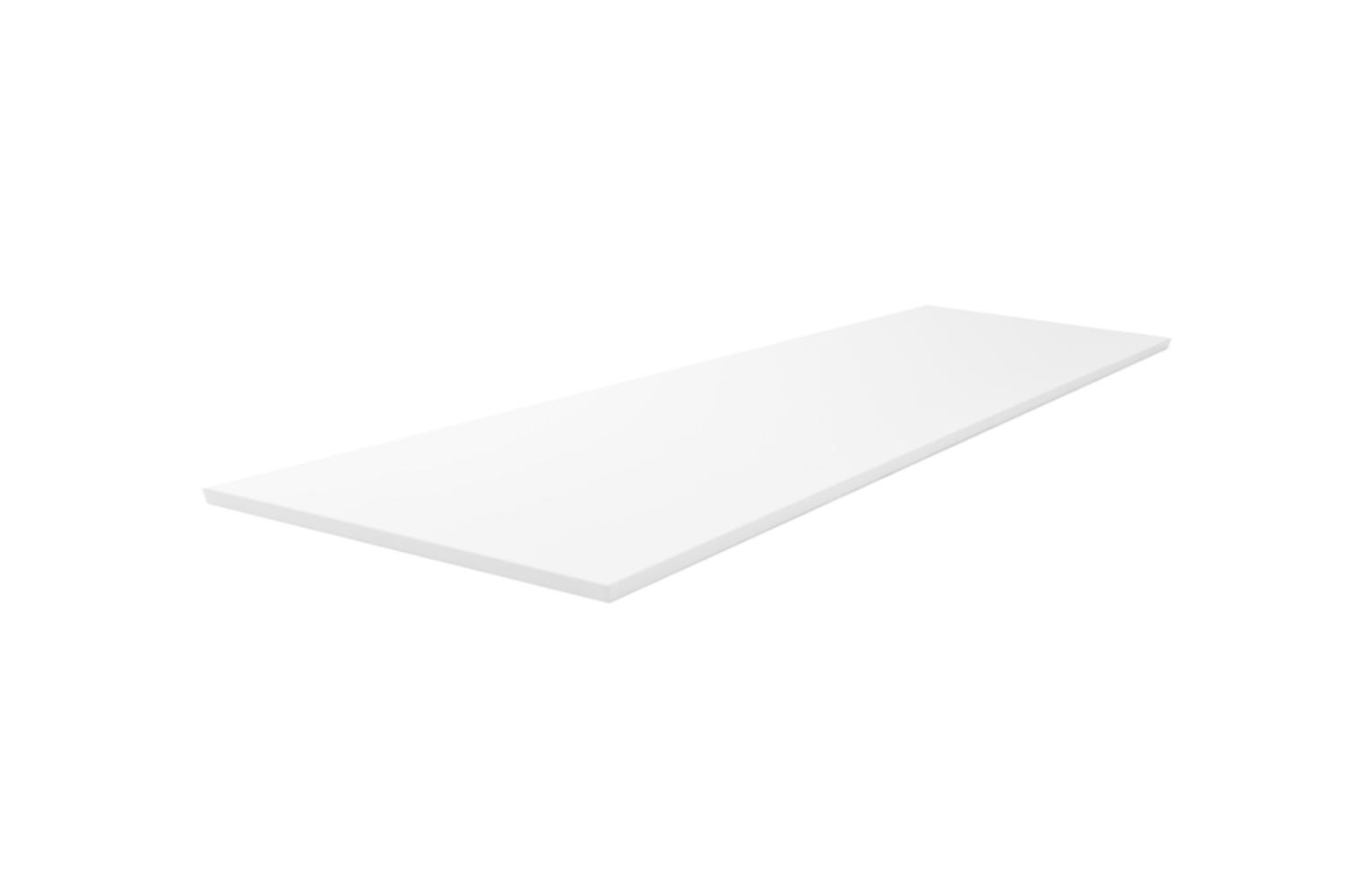 Wiesbaden Vision topblad 121x47,5x2,5 cm, wit