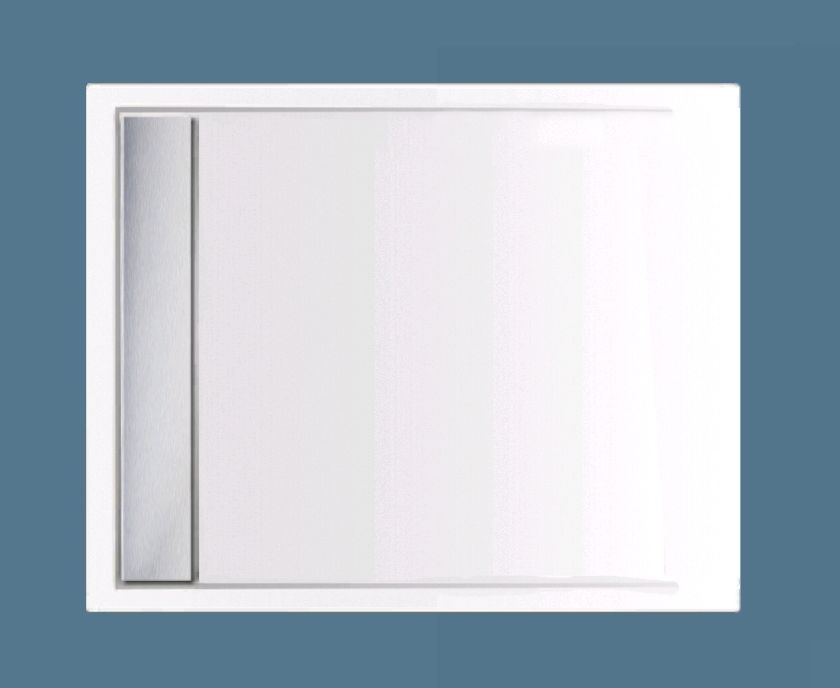 Xenz Easy-Tray Douchebak 110x90x5cm Antraciet