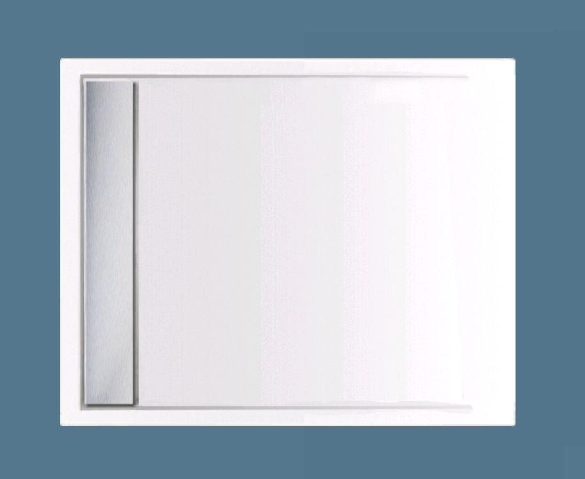 Xenz Easy-Tray Douchebak 110x90x5cm Edelweis