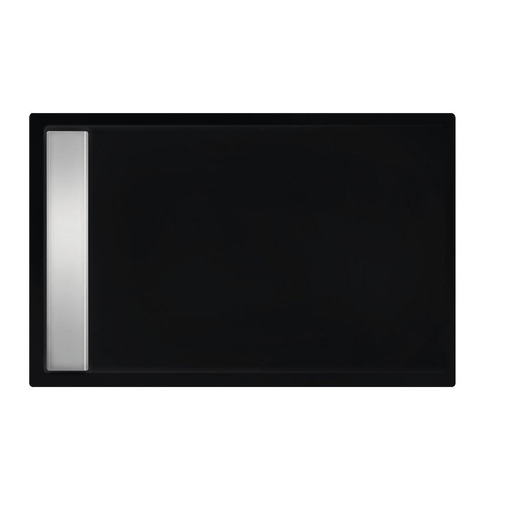 Xenz Easy-Tray Douchebak 170x90x5cm Ebony mat zwart