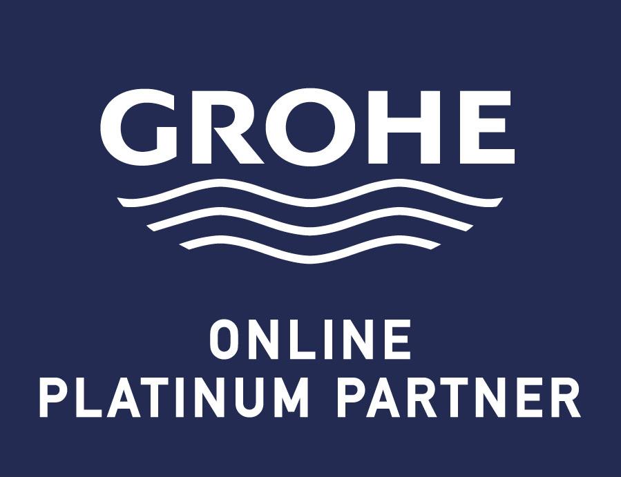 GROHE Rainshower wanddouchehouder met ronde rozet, hard graphite