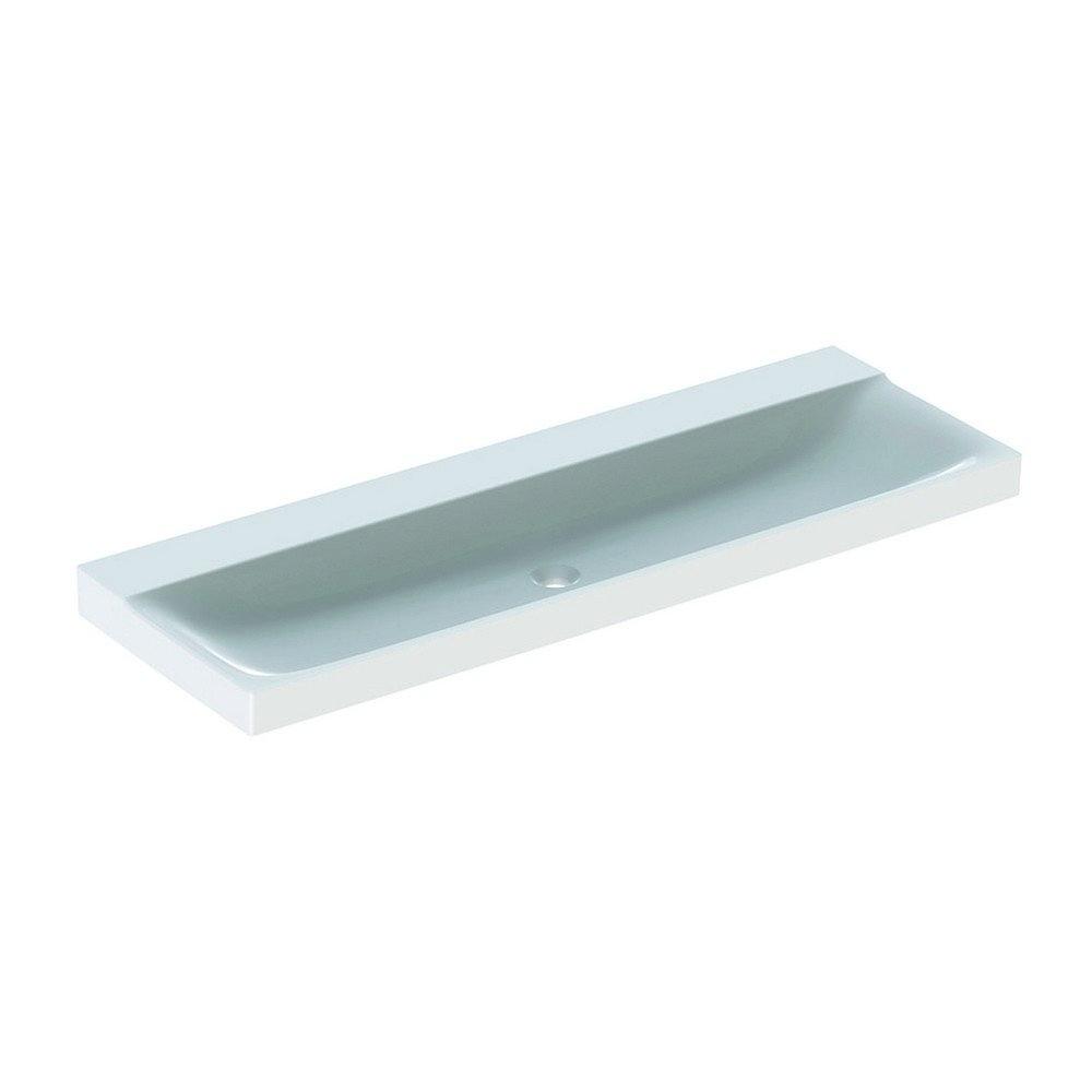 Geberit Xeno2 wastafel 140 cm zonder kraangat zonder overloop, wit
