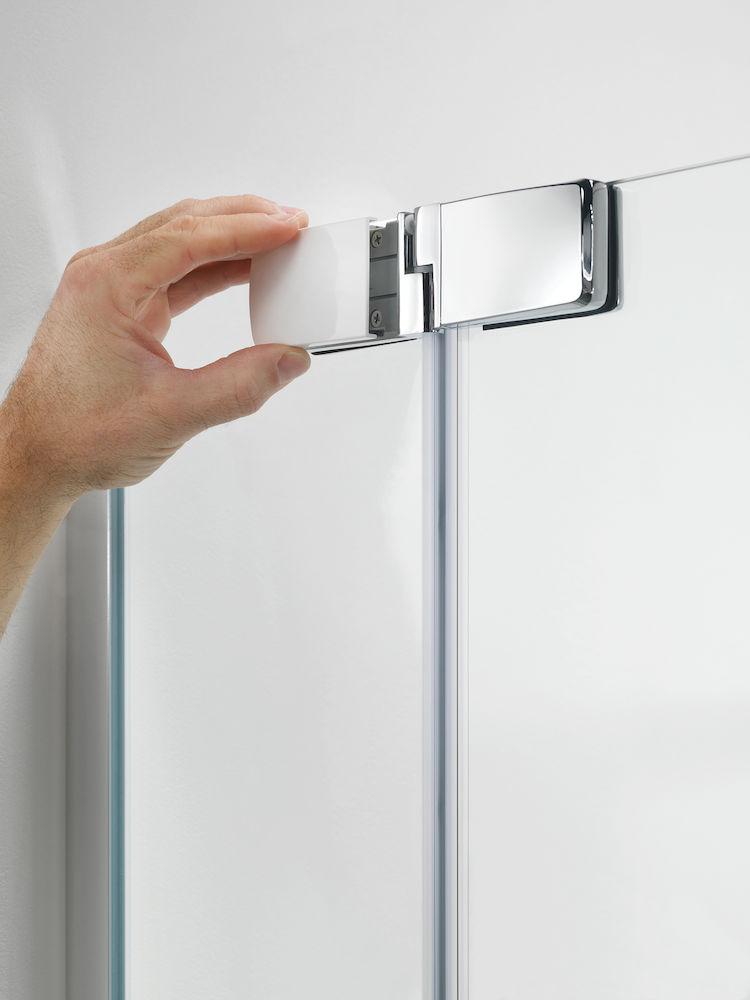 Sealskin get wet Custom badwand 2-delig, 6 mm helder veiligheidsglas