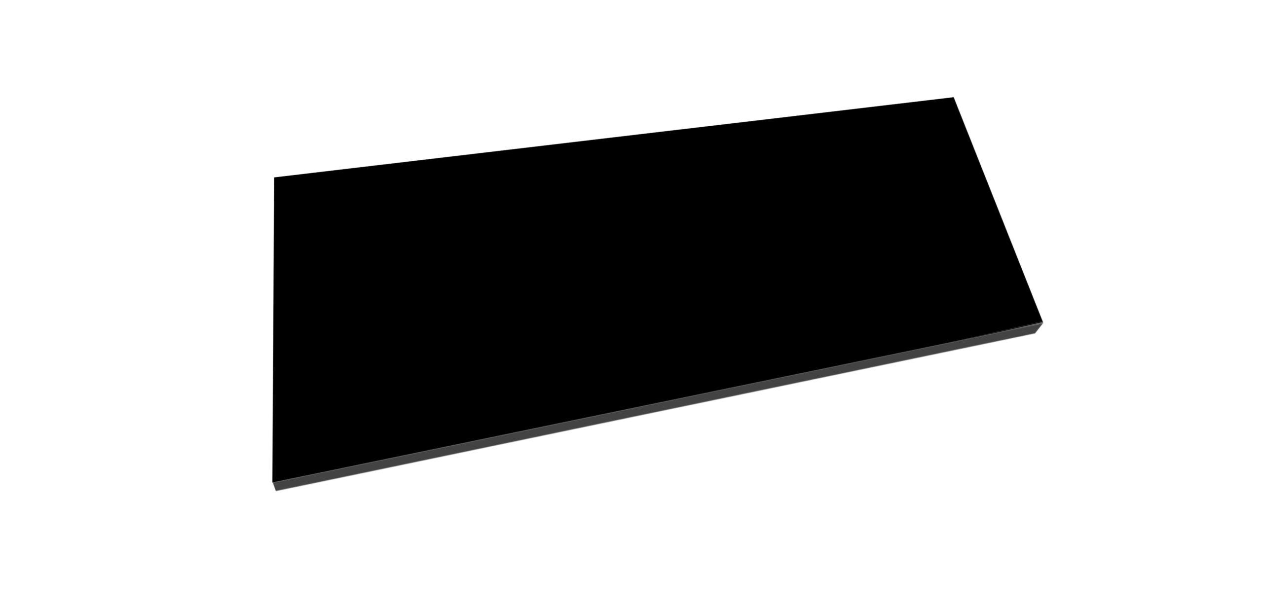 Best Design Beauty meubelblad 78cm mat zwart