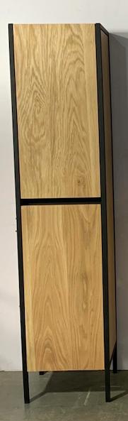 B-Stone Wood staande badkamerkast 39x35x169cm eiken
