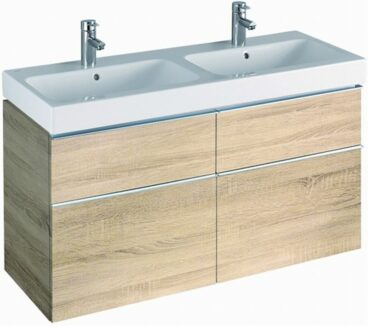 Sphinx Serie 345 wastafelonderkast 119 cm. eiken naturel, eiken naturel