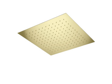 Bellezza Bagno Clip On inbouw hoofddouche 34x34cm goud