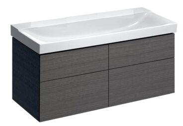 Geberit Xeno2 badmeubelset 46 - wastafel en wastafelonderkast 140 cm