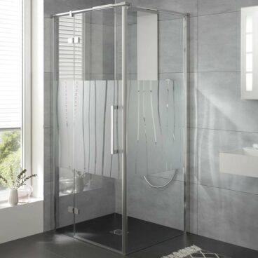 HSK Atelier Plan zijwand voor draaideur (excl.), 80x200cm, chroom