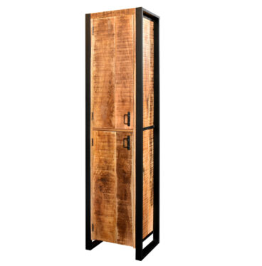MD Interior Woodz badkamerkast 200x50x40cm mangohout
