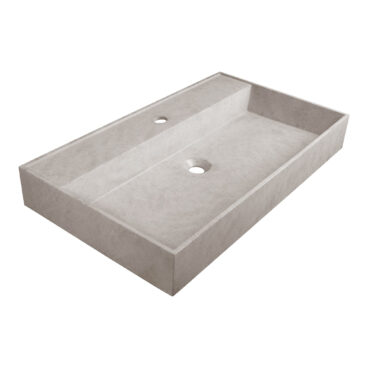Sanituba Beton wastafel met kraangat 80cm