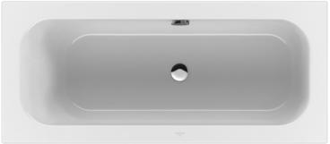 Villeroy & Boch Loop & Friends duobad rechthoek 170x75 cm, wit alpin