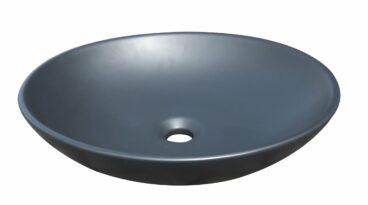 Best Design opbouw waskom ritz 50x43cm mat zwart