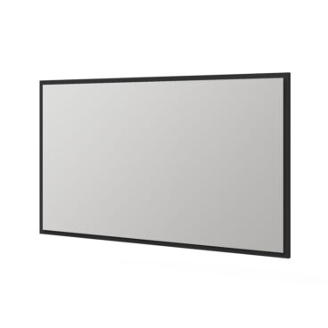 Tiger S-line spiegel met frame 120x70cm mat zwart