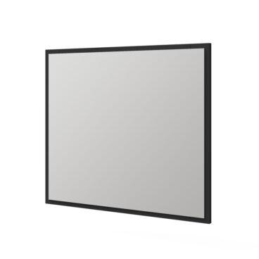 Tiger S-line spiegel met frame 80x70cm mat zwart