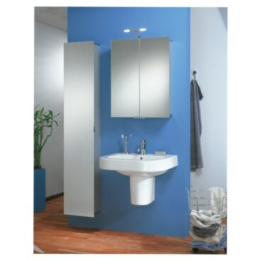 HSK ASP 300 spiegelkast met LED-verlichting 72 x 55,5 x 17 cm, aluminium
