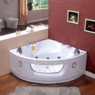 Plazan Flores whirlpool met heater 140x140cm