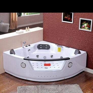 Plazan Tiga whirlpool met heater 152x152cm