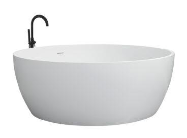 Best Design Cirkel vrijstaand bad 153cm mat wit