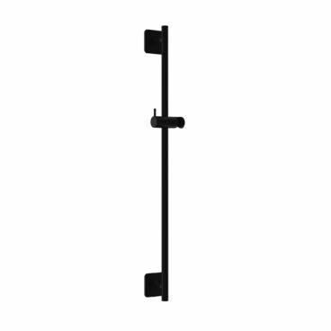 Hotbath Gal glijstang 100cm zwart mat