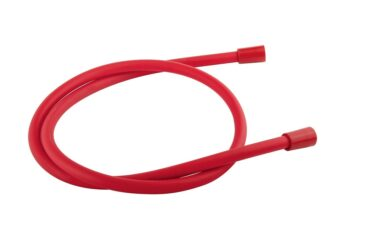 vtwonen Solid doucheslang 150 cm, rood