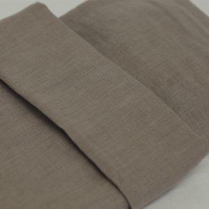 NG Baby Påslakanset Bäddset Mood Earth brun 100% linne säng