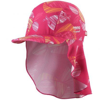 Barn rosa uv-hatt solhatt solmössa Octopus 52/54