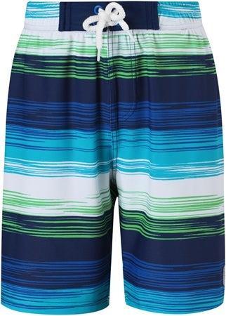 Reima Uv shorts faktor 50+ Biitzi randig blå grön strl 104