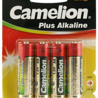 Batteri Alkaline 1,5V AA LR6 4pack Camelion