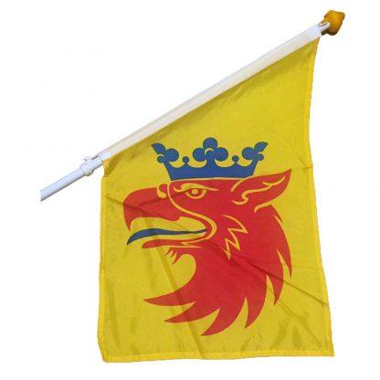 Fasadflagga Skåne Skånegripen landskapsflagga