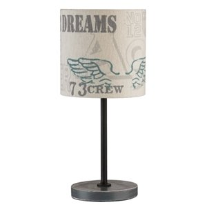 Kids Concept Bordslampa Industri Vit