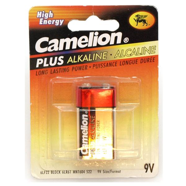 Batteri Alkaline 9V Camelion