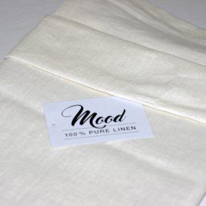NG Baby Påslakanset Bäddset Mood Ivory 100% linne säng