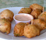 Bahamas: Conch Fritters