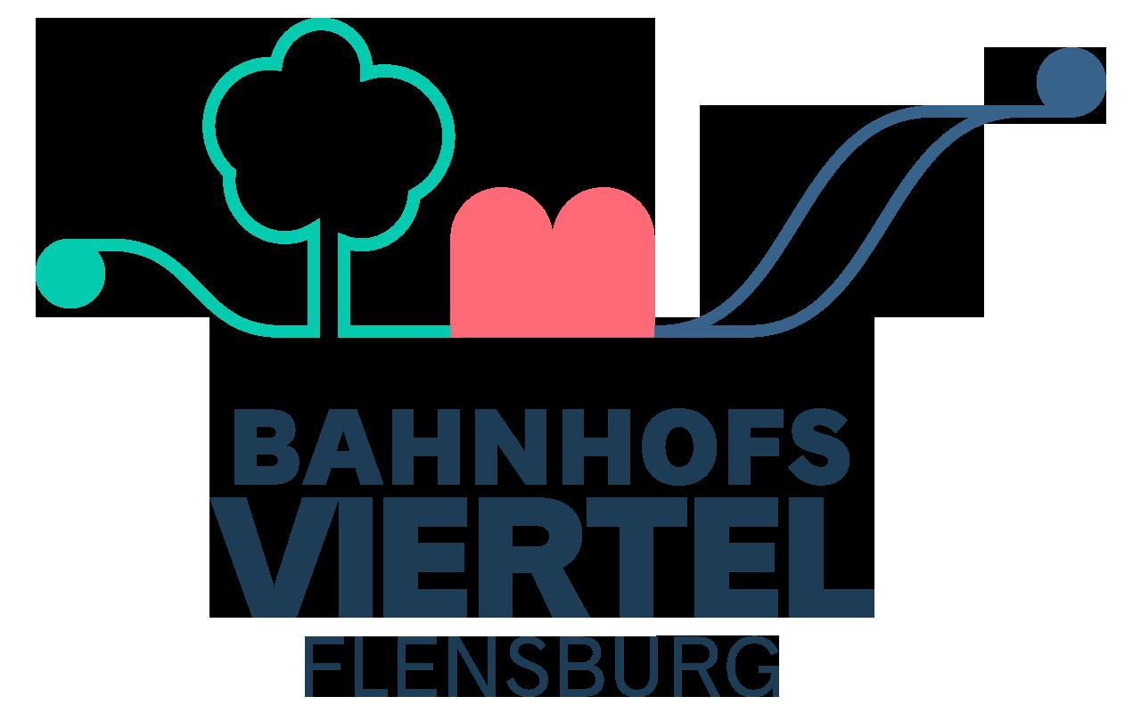 Logo der BI Bahnhofsviertel Flensburg
