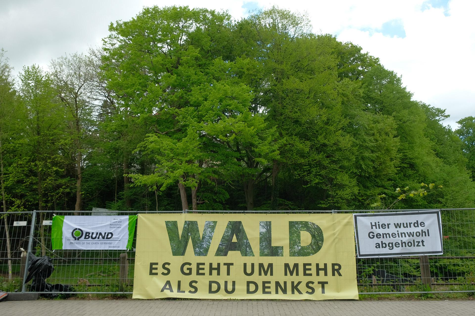Bahnhofswald Mahnwache II