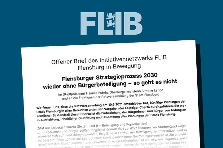 Offener Brief zum Flensburger Strategieprozess 2030